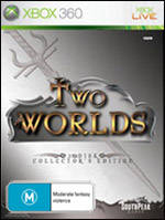Front boxart of the game Two Worlds II (Australia) on Microsoft Xbox 360