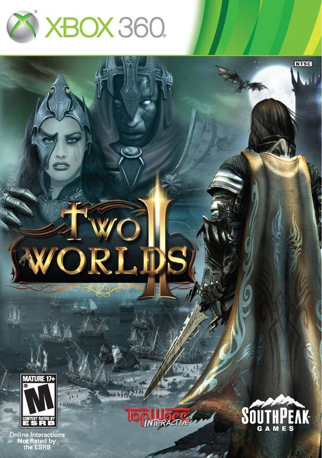 Front boxart of the game Two Worlds II (United States) on Microsoft Xbox 360