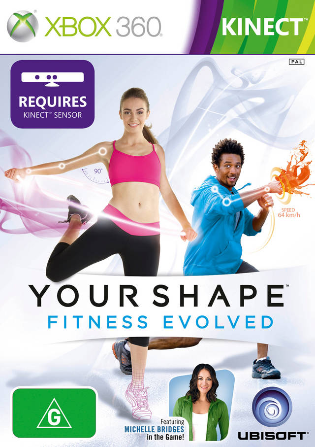 Front boxart of the game Your Shape - Fitness Evolved (Australia) on Microsoft Xbox 360
