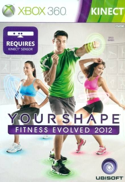 Front boxart of the game Your Shape Fitness Evolved 2012 (Asia) on Microsoft Xbox 360
