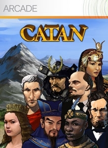 Front boxart of the game Catan (United States) on Microsoft Xbox 360