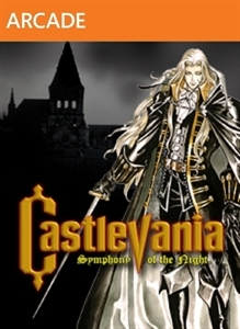 Front boxart of the game Castlevania - Symphony of the Night (United States) on Microsoft Xbox 360