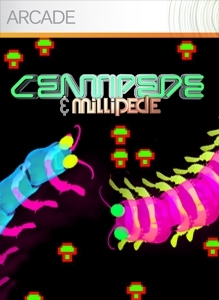 Front boxart of the game Centipede & Millipede (United States) on Microsoft Xbox 360