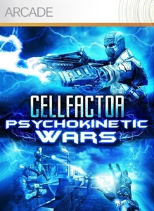 Front boxart of the game CellFactor - Psychokinetic Wars (United States) on Microsoft Xbox 360