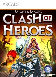 Front boxart of the game Might & Magic - Clash of Heroes (United States) on Microsoft Xbox 360