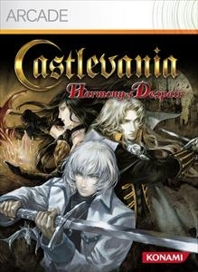Front boxart of the game Castlevania - Harmony of Despair (United States) on Microsoft Xbox 360
