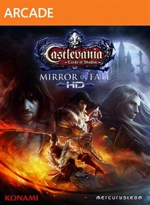 Front boxart of the game Castlevania - Lords of Shadow - Mirror of Fate HD (United States) on Microsoft Xbox 360