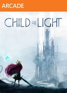 Front boxart of the game Child of Light (United States) on Microsoft Xbox 360