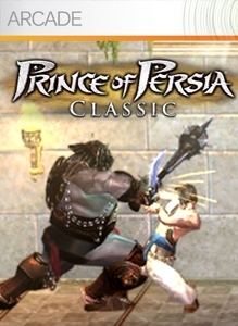 Front boxart of the game Prince of Persia Classic (United States) on Microsoft Xbox 360