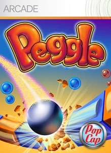 Front boxart of the game Peggle (United States) on Microsoft Xbox 360