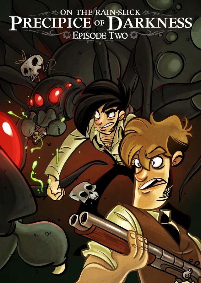 Front boxart of the game Penny Arcade Adventures - On the Rain-Slick Precipice of Darkness Episode Two (United States) on Microsoft Xbox 360