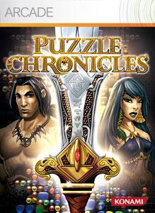 Front boxart of the game Puzzle Chronicles (United States) on Microsoft Xbox 360