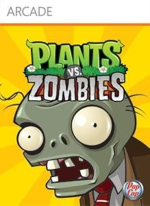 Front boxart of the game Plants vs. Zombies (United States) on Microsoft Xbox 360