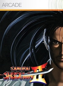 Front boxart of the game Samurai Shodown II (United States) on Microsoft Xbox 360