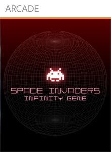 Front boxart of the game Space Invaders Infinity Gene (United States) on Microsoft Xbox 360