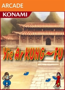 Front boxart of the game Yie Ar Kung-Fu (United States) on Microsoft Xbox 360