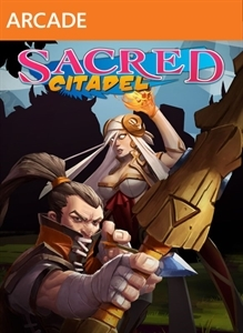 Front boxart of the game Sacred Citadel (United States) on Microsoft Xbox 360