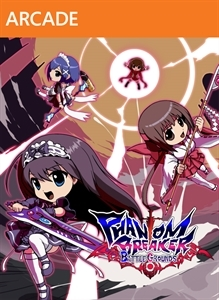 Front boxart of the game Phantom Breaker - Battle Grounds (United States) on Microsoft Xbox 360