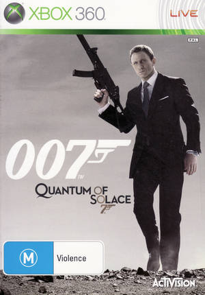Front boxart of the game 007 - Quantum of Solace (Australia) on Microsoft Xbox 360