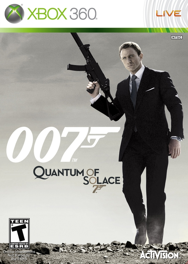 Front boxart of the game 007 - Quantum of Solace (United States) on Microsoft Xbox 360