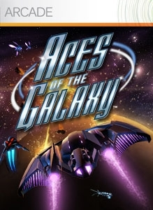 Front boxart of the game Aces of the Galaxy (United States) on Microsoft Xbox 360