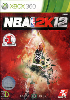 Front boxart of the game NBA 2K12 (Asia) on Microsoft Xbox 360