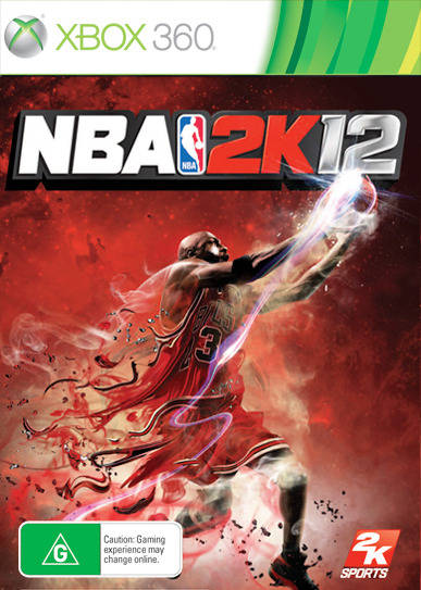 Front boxart of the game NBA 2K12 (Australia) on Microsoft Xbox 360
