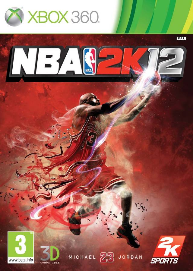 Front boxart of the game NBA 2K12 (Europe) on Microsoft Xbox 360