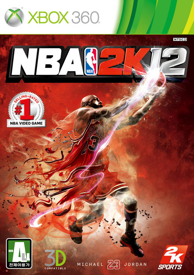 Front boxart of the game NBA 2K12 (South Korea) on Microsoft Xbox 360