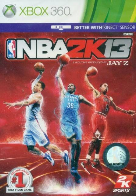 Front boxart of the game NBA 2K13 (Asia) on Microsoft Xbox 360
