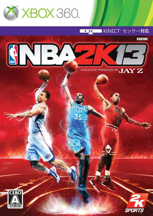 Front boxart of the game NBA 2K13 (Japan) on Microsoft Xbox 360