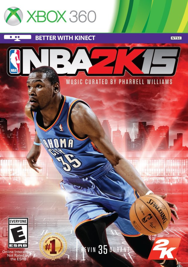 Front boxart of the game NBA 2K15 (United States) on Microsoft Xbox 360