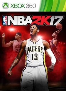 Front boxart of the game NBA 2K17 (United States) on Microsoft Xbox 360
