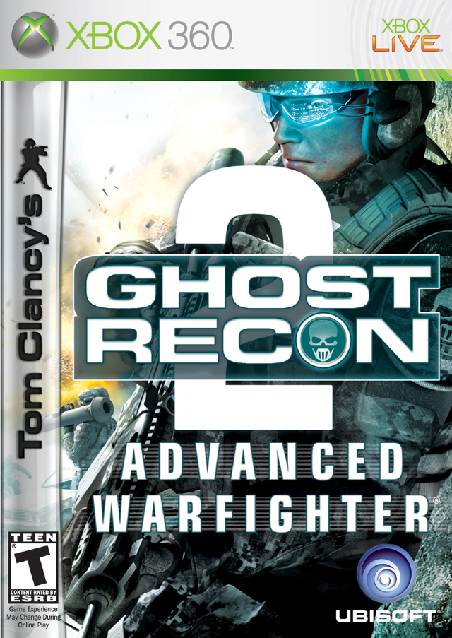 Front boxart of the game Tom Clancy's Ghost Recon Advanced Warfighter 2 (United States) on Microsoft Xbox 360