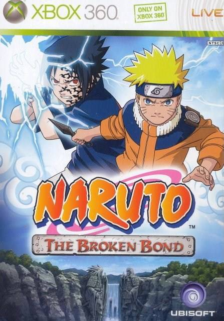 Front boxart of the game Naruto - The Broken Bond (Asia) on Microsoft Xbox 360
