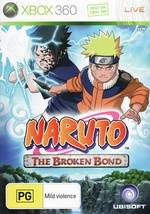 Front boxart of the game Naruto - The Broken Bond (Australia) on Microsoft Xbox 360