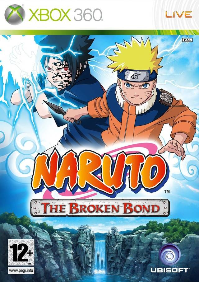 Front boxart of the game Naruto - The Broken Bond (Europe) on Microsoft Xbox 360