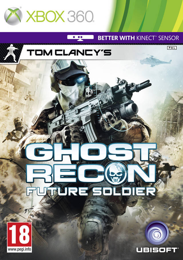 Front boxart of the game Tom Clancy's Ghost Recon - Future Soldier (Europe) on Microsoft Xbox 360