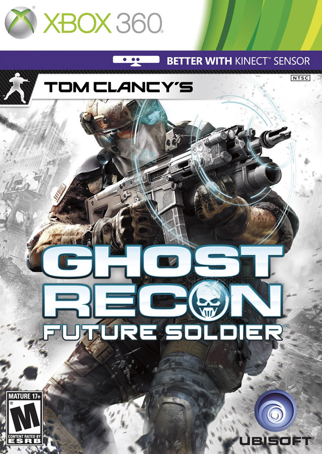 Front boxart of the game Tom Clancy's Ghost Recon - Future Soldier (United States) on Microsoft Xbox 360