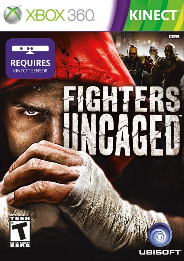 Front boxart of the game Fighters Uncaged (United States) on Microsoft Xbox 360