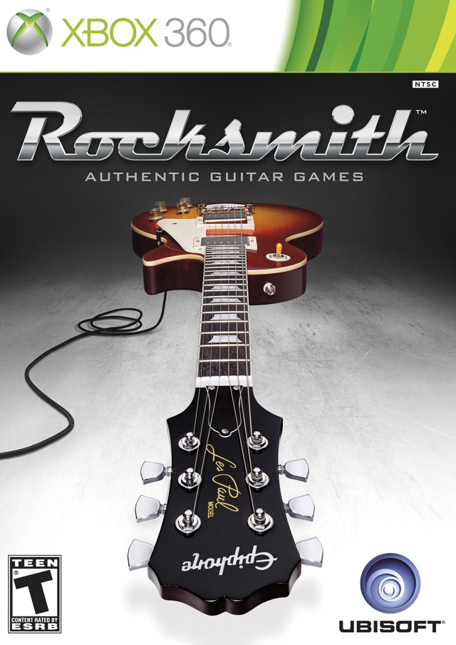 Front boxart of the game Rocksmith (United States) on Microsoft Xbox 360