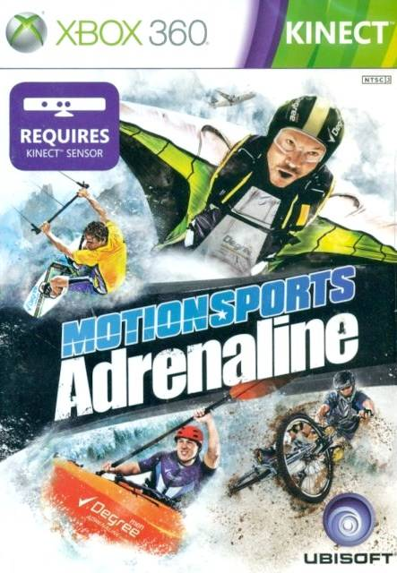 Front boxart of the game MotionSports Adrenaline (Asia) on Microsoft Xbox 360