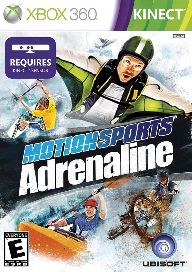 Front boxart of the game MotionSports Adrenaline (United States) on Microsoft Xbox 360