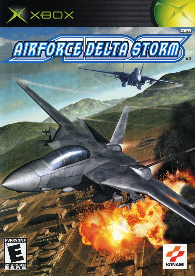 Front boxart of the game AirForce Delta Storm (United States) on Microsoft Xbox