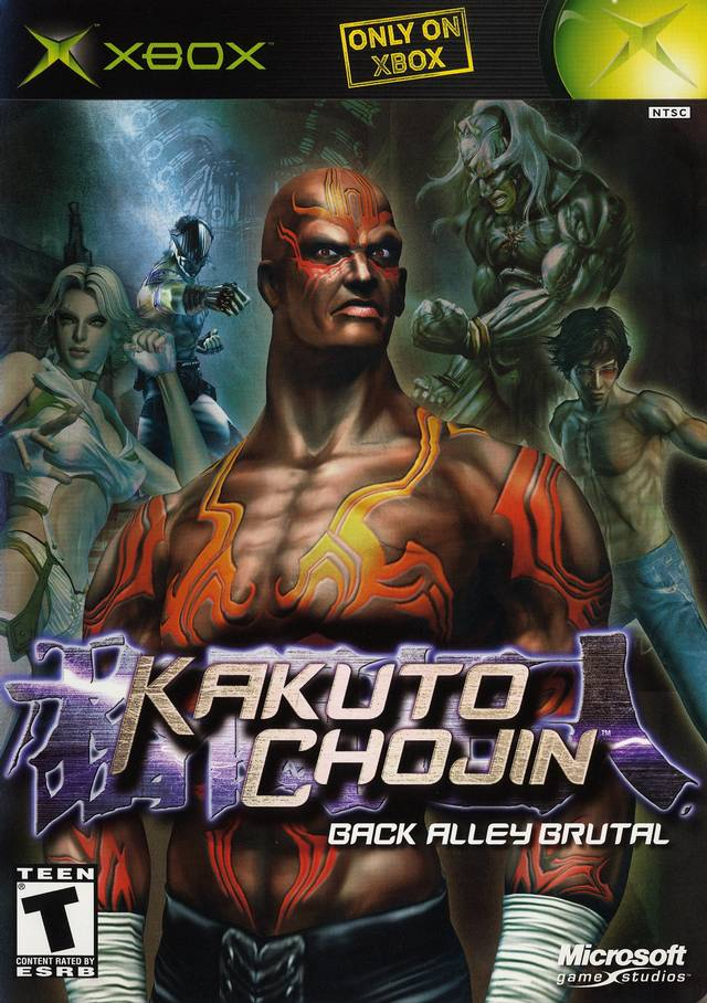 Front boxart of the game Kakuto Chojin (United States) on Microsoft Xbox