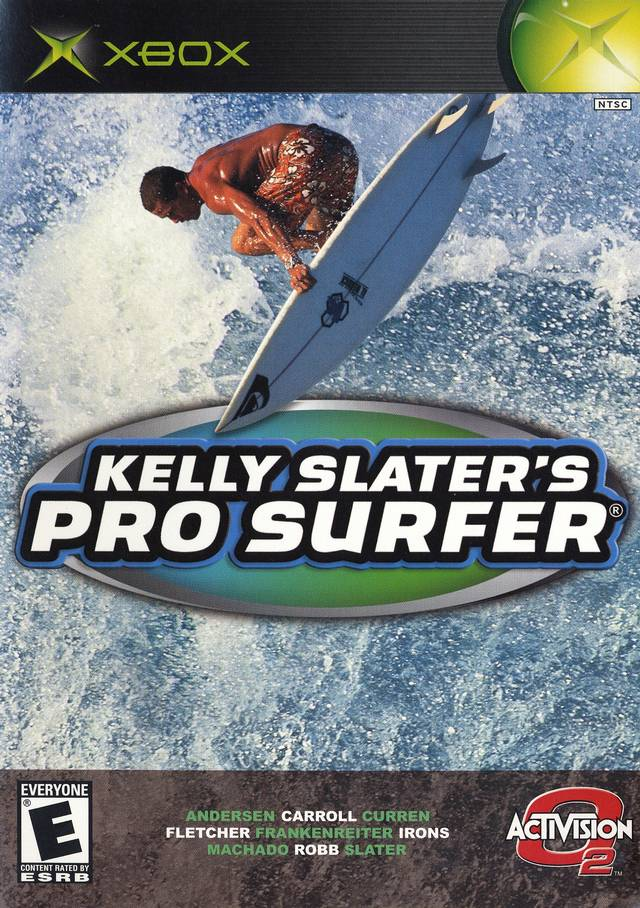 Front boxart of the game Kelly Slater's Pro Surfer (United States) on Microsoft Xbox
