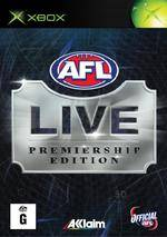 Front boxart of the game AFL Live Premiership Edition (Australia) on Microsoft Xbox