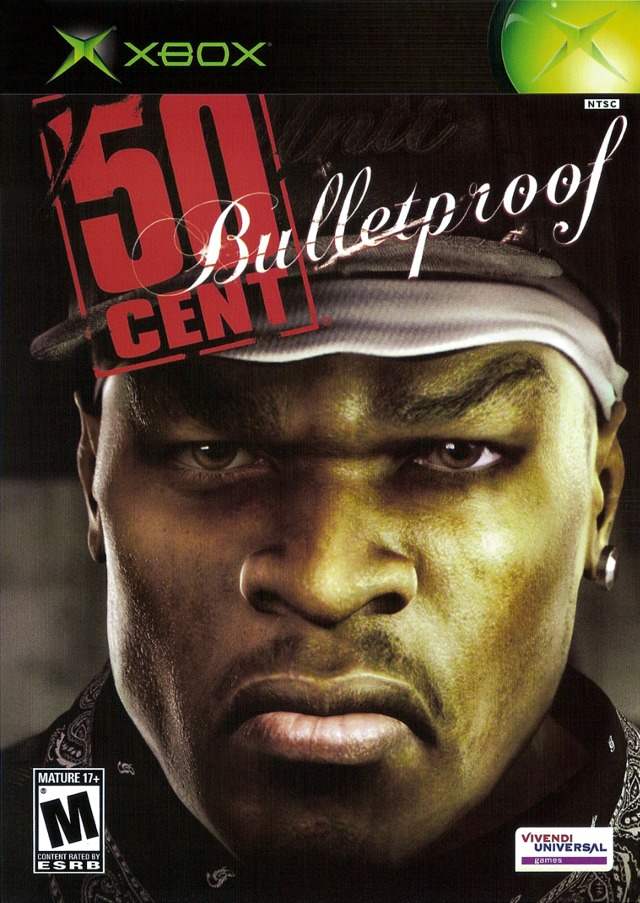Front boxart of the game 50 Cent - Bulletproof (United States) on Microsoft Xbox