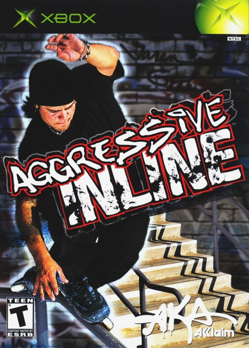 Front boxart of the game Aggressive Inline (United States) on Microsoft Xbox