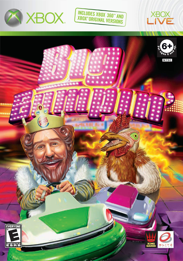 Front boxart of the game Big Bumpin' (United States) on Microsoft Xbox